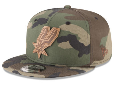 San Antonio Spurs New Era NBA Camo 9FIFTY Snapback Cap