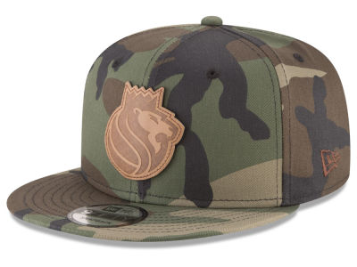 Sacramento Kings New Era NBA Sergeant Camo 9FIFTY Snapback Cap
