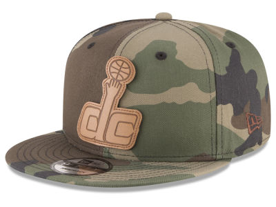 Washington Wizards New Era NBA Sergeant Camo 9FIFTY Snapback Cap