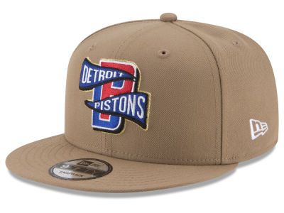 Detroit Pistons New Era NBA Team Banner 9FIFTY Snapback Cap