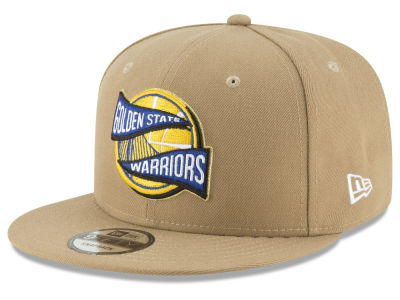 Golden State Warriors New Era NBA Team Banner 9FIFTY Snapback Cap