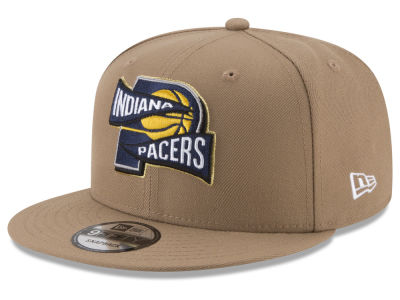 Indiana Pacers New Era NBA Team Banner 9FIFTY Snapback Cap