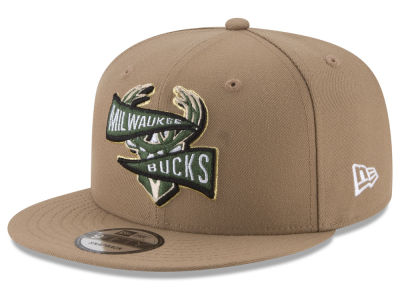 Milwaukee Bucks New Era NBA Team Banner 9FIFTY Snapback Cap