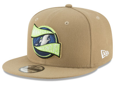 Minnesota Timberwolves New Era NBA Team Banner 9FIFTY Snapback Cap