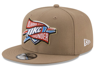 Oklahoma City Thunder New Era NBA Team Banner 9FIFTY Snapback Cap
