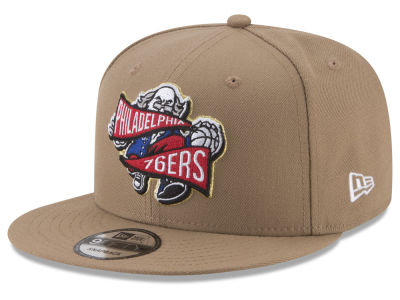 Philadelphia 76ers New Era NBA Team Banner 9FIFTY Snapback Cap