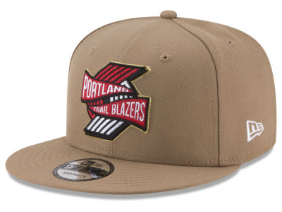 Portland Trail Blazers New Era NBA Team Banner 9FIFTY Snapback Cap