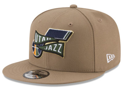 Utah Jazz New Era NBA Team Banner 9FIFTY Snapback Cap