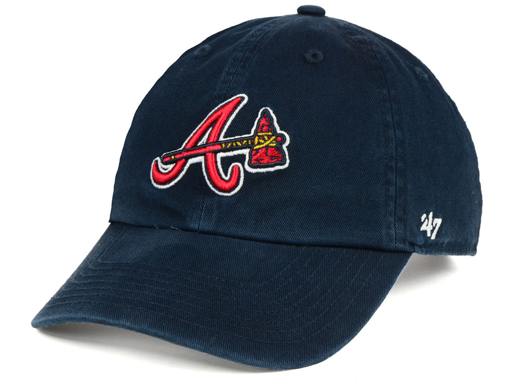finest selection 0053b e864b clearance atlanta braves 47 mlb kids 47 clean up cap dbd23 f6a7d