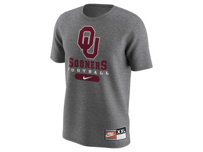 Oklahoma Sooners Nike NCAA Men's Retro Short Sleeve T-Shirt
