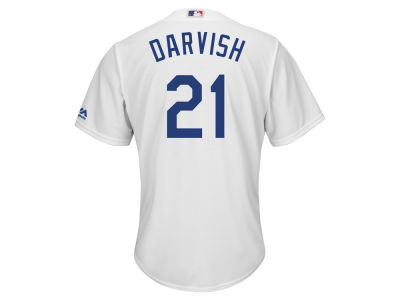 Los Angeles Dodgers Yu Darvish Majestic MLB Men's Player Replica Cool Base Jersey
