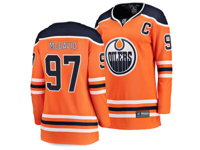 Edmonton Oilers Connor McDavid NHL Branded NHL Women's Breakaway Player Jersey