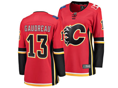 Calgary Flames Johnny Gaudreau NHL Branded NHL Women's Breakaway Player Jersey