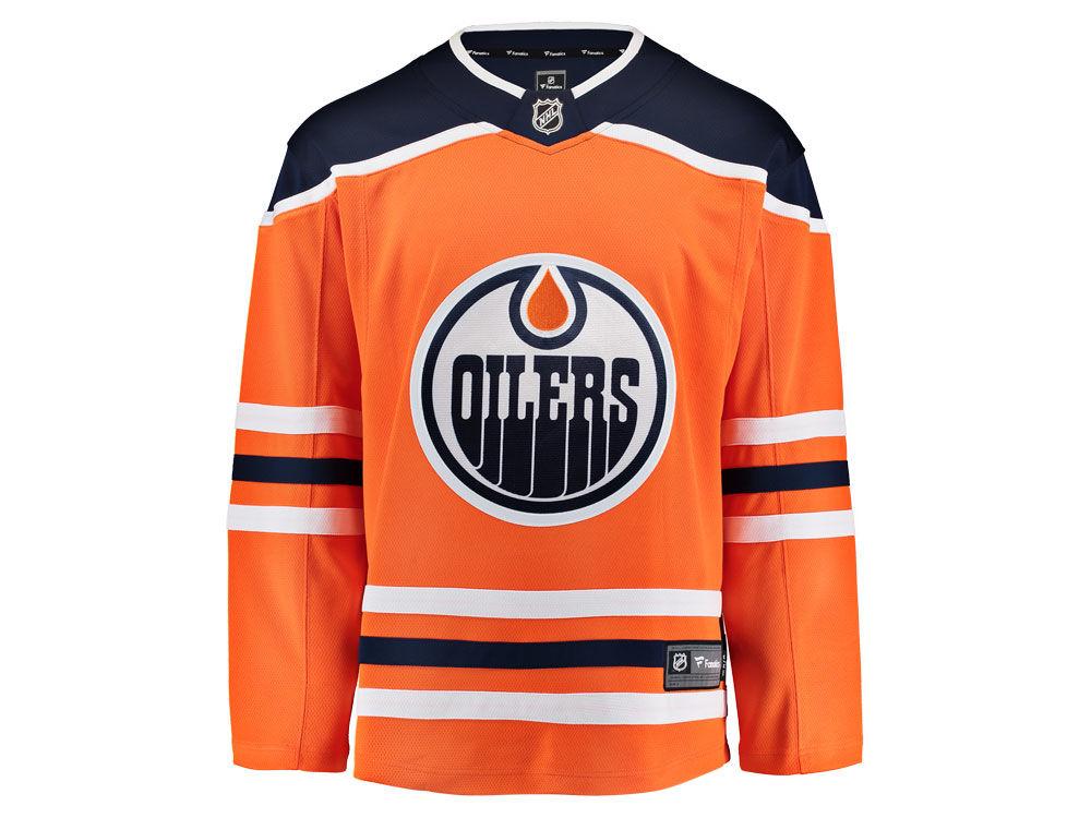 0e6c00edf Edmonton Oilers NHL Branded NHL Men s Breakaway Jersey