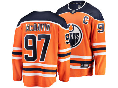 Edmonton Oilers Connor McDavid NHL Men's Breakaway Player Jersey