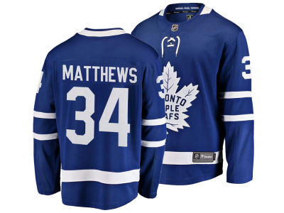 Toronto Maple Leafs Auston Matthews NHL Branded NHL Men's Breakaway Player Jersey