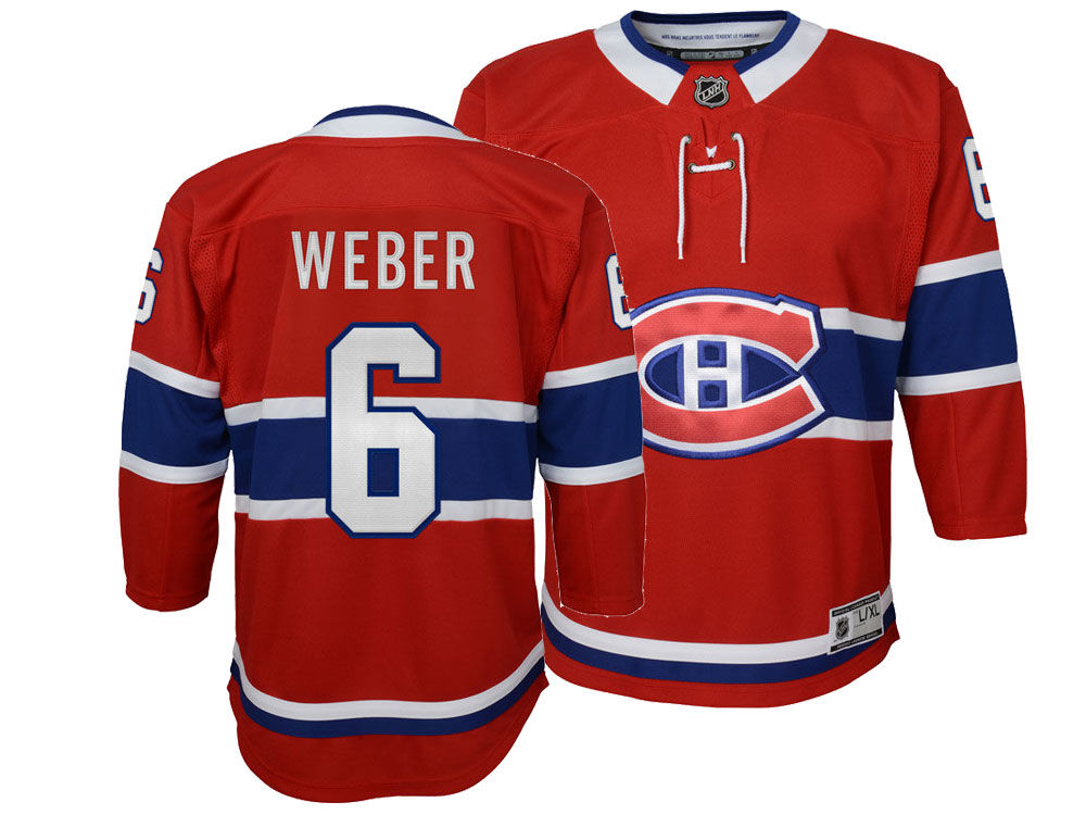 Montreal Canadiens Shea Weber NHL Branded NHL Men s Breakaway Player Jersey   bd9f63ba67f