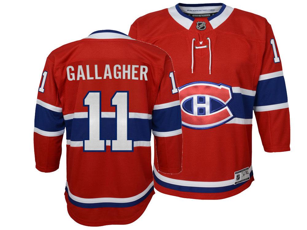 Montreal Canadiens Brendan Gallagher NHL Branded NHL Men s Breakaway Player  Jersey  9abd280efe1