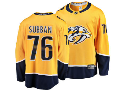 Nashville Predators P.K. Subban NHL Men's Breakaway Player Jersey