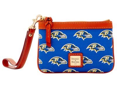 Baltimore Ravens Dooney & Bourke Exclusive Wristlet
