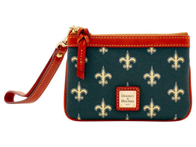 New Orleans Saints Dooney & Bourke Exclusive Wristlet
