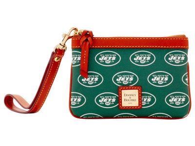 New York Jets Dooney & Bourke Exclusive Wristlet