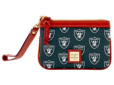 Oakland Raiders Dooney & Bourke Exclusive Wristlet