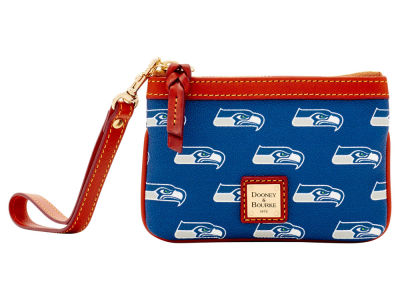 Seattle Seahawks Dooney & Bourke Exclusive Wristlet