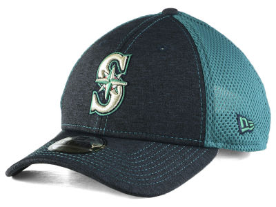 Seattle Mariners New Era MLB Shadow Turn 2 9FORTY Cap