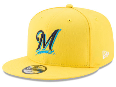 Milwaukee Brewers New Era 2017 MLB Players Weekend 9FIFTY Snapback Cap