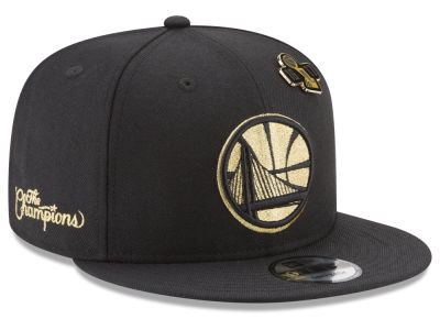 Golden State Warriors New Era NBA Golden State Rings 9FIFTY Snapback Cap