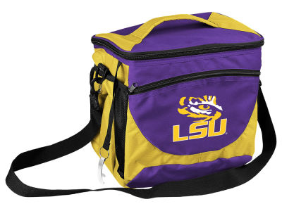 LSU Tigers Logo Brands 24 Can Cooler