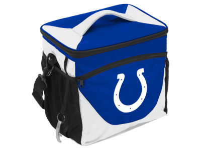 Indianapolis Colts Logo Brands 24 Can Cooler