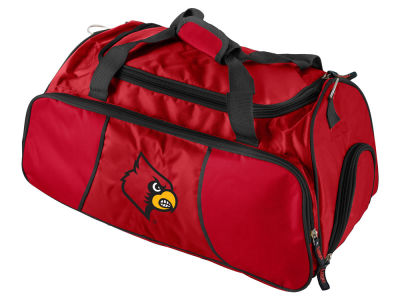 Louisville Cardinals Logo Brands Athletic Duffel