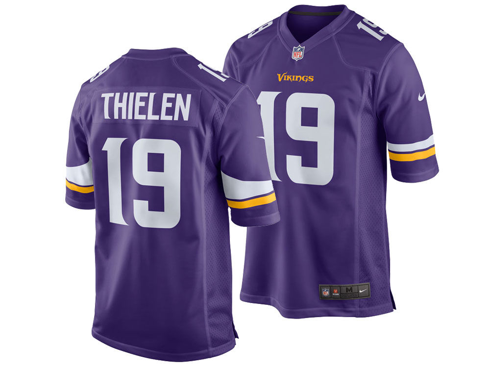 Minnesota Vikings Adam Thielen Nike NFL Men s Game Jersey  41bc1d6a4