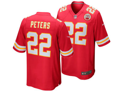 Kansas City Chiefs Marcus Peters Nike NFL Men's Game Jersey