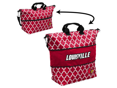 Louisville Cardinals Logo Brands Expandable Tote