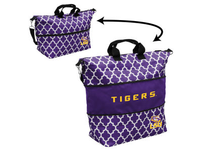 LSU Tigers Logo Brands Expandable Tote