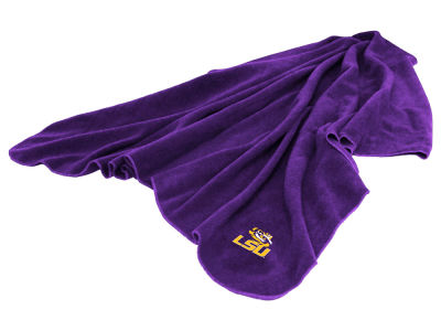 LSU Tigers Logo Brands Huddle Throw