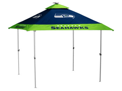 Seattle Seahawks Logo Brands Pagoda Tent