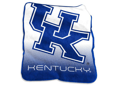 Kentucky Wildcats Logo Brands Raschel Throw