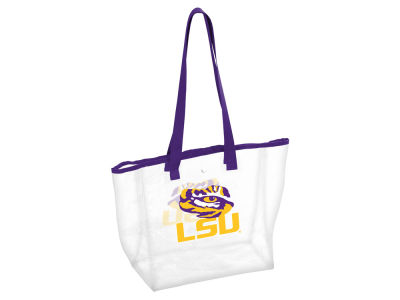 LSU Tigers Stadium Clear Tote V
