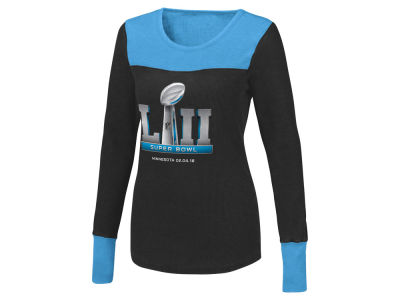 fde7432ed Super Bowl LII G-III Sports NFL Women s Touch Blindside Thermal Long Sleeve  T-
