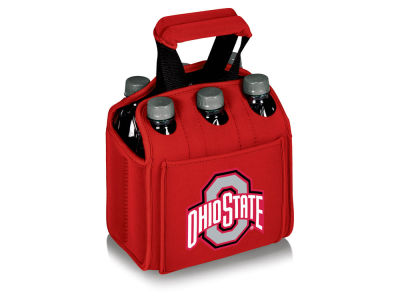 Ohio State Buckeyes Picnic Time Six Pack Beverage Carrier
