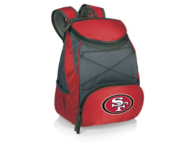 San Francisco 49ers Picnic Time PTX Backpack Cooler