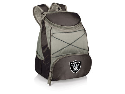 Oakland Raiders Picnic Time PTX Backpack Cooler