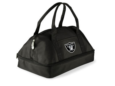 Oakland Raiders Picnic Time Potluck Carrier