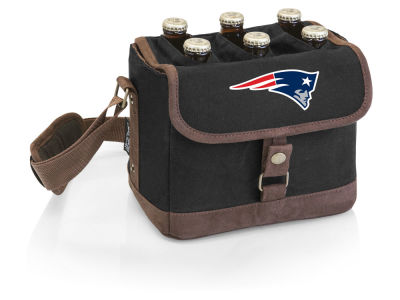 New England Patriots Picnic Time Beer Caddy