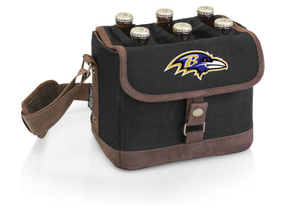 Baltimore Ravens Picnic Time Beer Caddy
