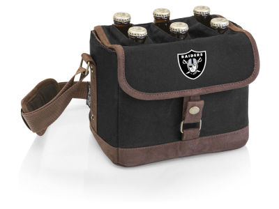 Oakland Raiders Picnic Time Beer Caddy